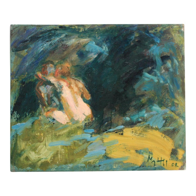 Tyro & Poseidon Disguised as Enipeus by Mogens Hoff, 2002 For Sale