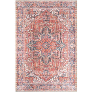 Momeni Chandler Zara Red 4' X 6' Area Rug For Sale