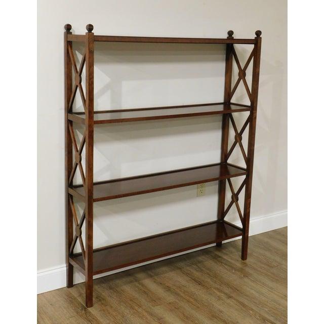 Grange French Cherry 4 Tier Bookshelf For Sale - Image 12 of 13