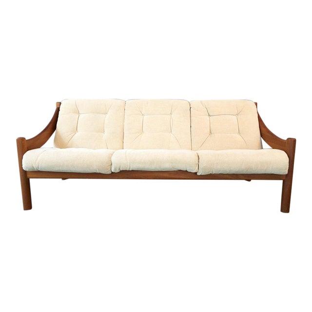 Domino Mobler Danish Modern Teak Sofa For Sale - Image 9 of 9