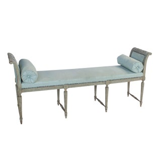 Painted French Bench