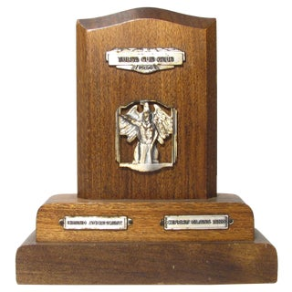 1964 Mid-Century Sports Trophy For Sale
