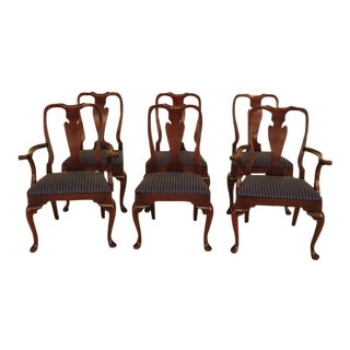 Hickory Chair Co. Mahogany Dining Room Chairs - Set of 6