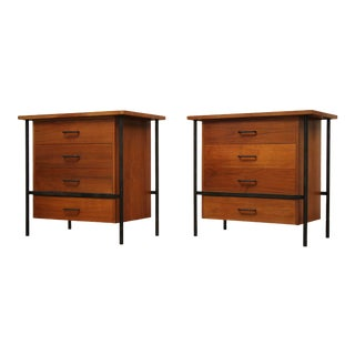 1950s Don Knorr Floating Chests for Vista of California-a Pair For Sale