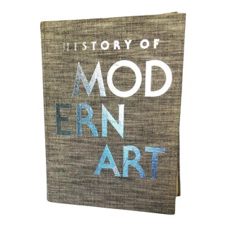 1980s Vintage History of Modern Art Oversized Coffee Table Book For Sale