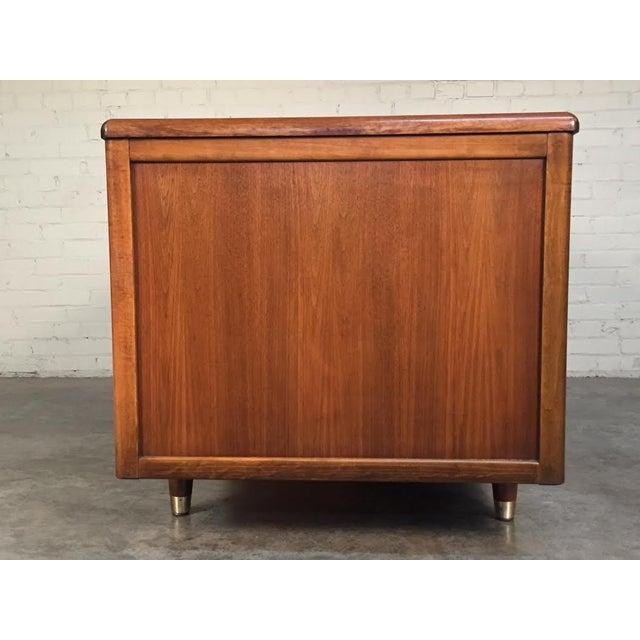 Jasper Mid-Century Modern Walnut Desk - Image 4 of 8