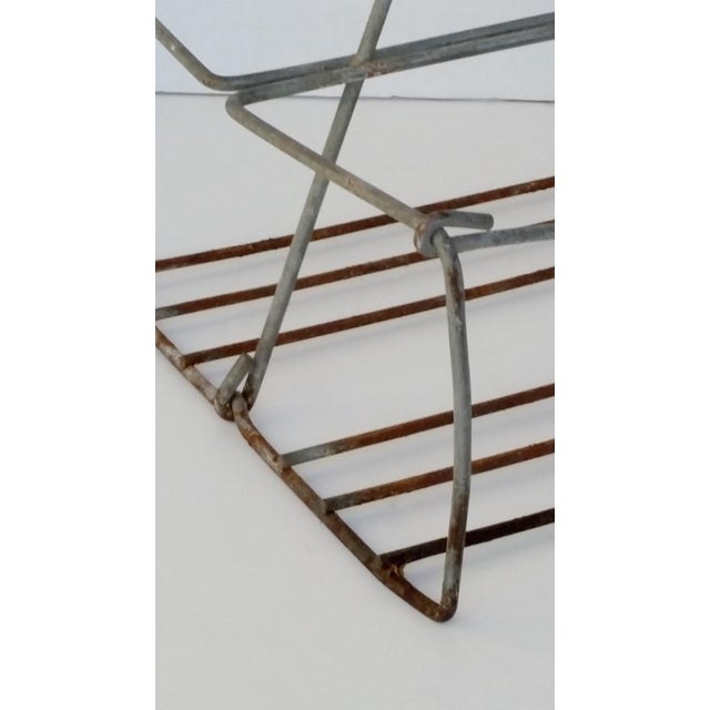 Vintage Metal Wire Caddy - Image 4 of 5