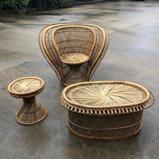 1970s Vintage King Cobra Peacock Seat Set- 4 Pieces Preview