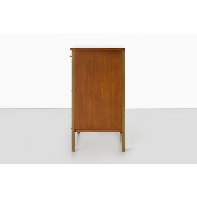 H. Sacks & Sons Paul McCobb for H. Sacks + Sons Connoisseur Collection Walnut Cabinet For Sale - Image 4 of 9