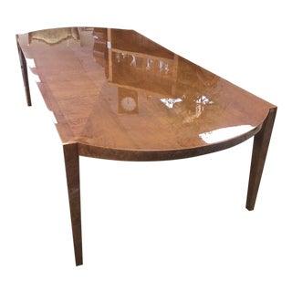 Enrique Garcel Burlwood Dining Table