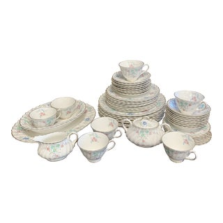 Royal Doulton China Dinnerware, 51 Pieces For Sale