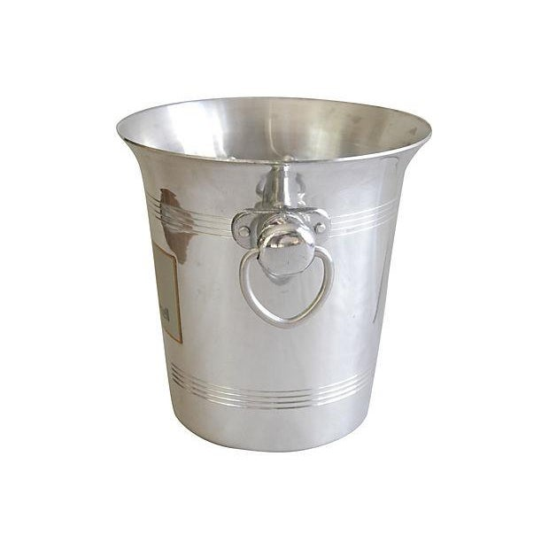 Vintage French Hanns Kornell Champagne Bucket For Sale - Image 5 of 7