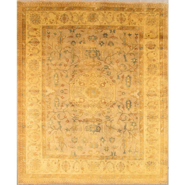"""Pasargad Oushak Collection Rug - 9'1"""" X 11'7"""" - Image 1 of 2"""