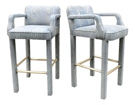 Image of Brass Bar Stools