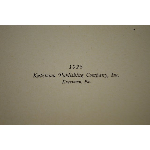Allentown Conference History 1926 Hardcover Book For Sale - Image 10 of 12