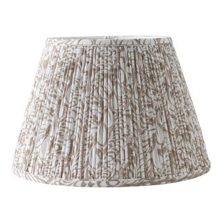 "Fern in Fawn 10"" Lamp Shade, Taupe For Sale"