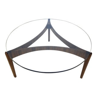 1960s Danish Modern Sven Ellekaer for Christian Linneberg Rosewood Coffee Table For Sale