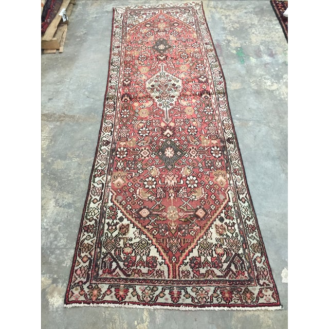 Hamadan Persian Rug - 2′11″ × 9′5″ - Image 3 of 8
