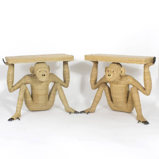 Mario Lopez Torres Mario Torres Chimpanzee or Monkey Console For Sale - Image 4 of 9