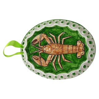 Ceramic Lobster Wall Hanging For Sale