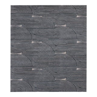 Nightcap 10' x 14' Rug - Blue For Sale