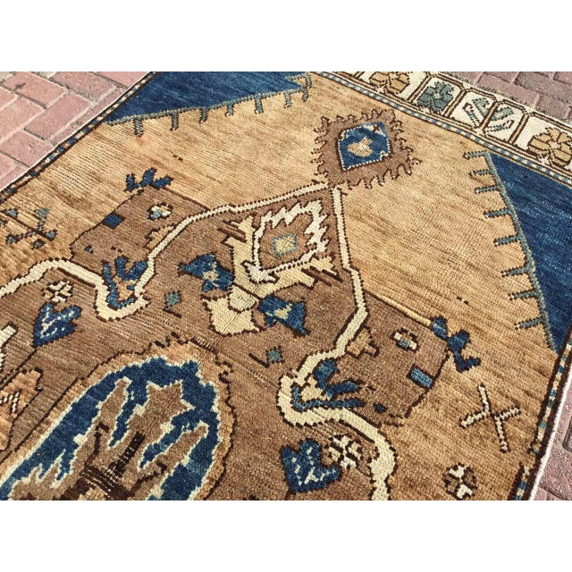 Textile Vintage Hand Knotted Anatolian Rug For Sale - Image 7 of 12