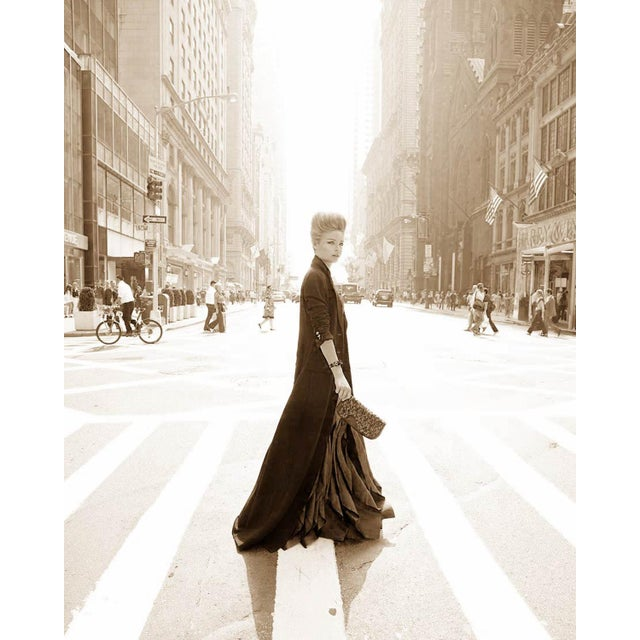 Black and White Photograph from Vogue Mexico Story shot in NYC. Printed on Archival Fine Art Paper