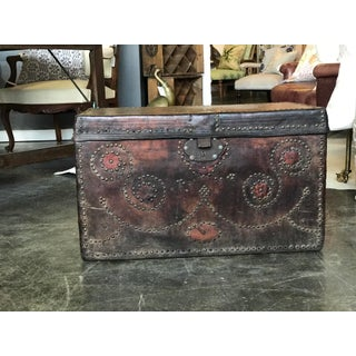 Antique Bishop's Trunk Preview