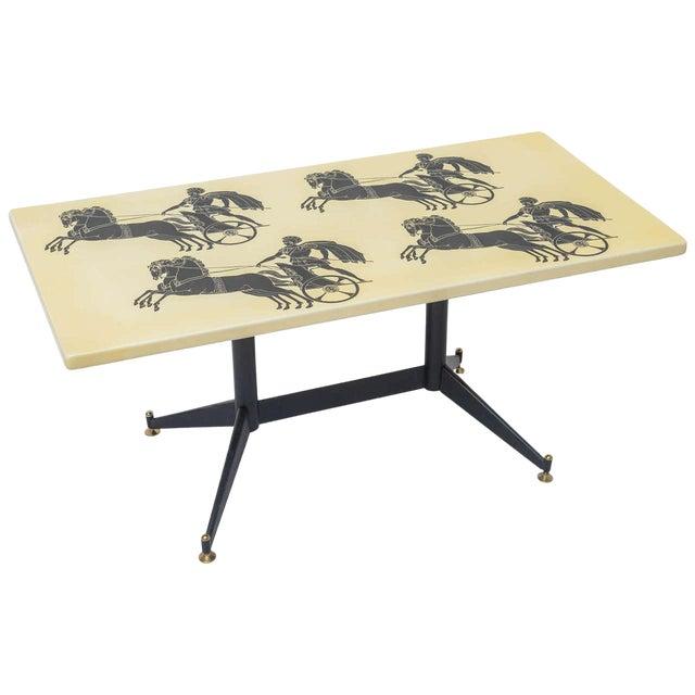 Piero Fornasetti Bighe Coffee Table For Sale