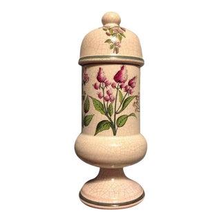 Herr Keramik Floral Hustenbonbons Apothecary Jar