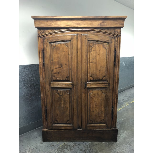 Vintage Pine Armoire - Image 10 of 10