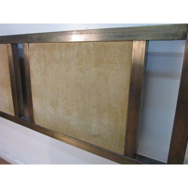 Mastercraft Brass Headboard For Sale - Image 4 of 6