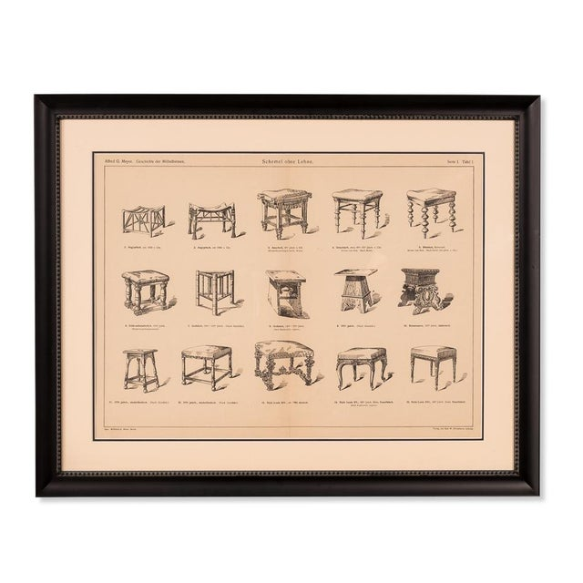 """Estimated Retail Price: $885.00. Wooden framed antique book page Packaging Dimensions: 33""""l x 3""""w x 27""""h"""