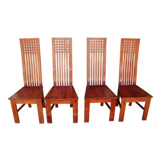1980s Dining Chairs - Set of 4 For Sale