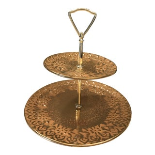 Strangl Two-Tiered Serving Dish