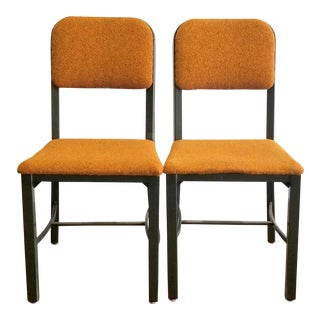 Mid Century Industrial Sturlon Chairs- A Pair For Sale