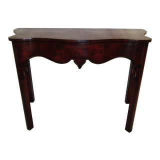 1990s Chinoiserie Contemporary Large Console For Sale