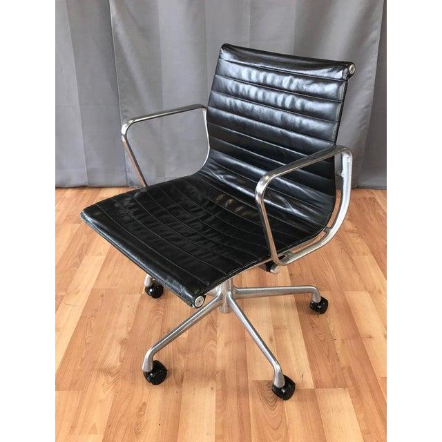 Herman Miller Eames Aluminum Group 50th Anniversary Mesh Chair