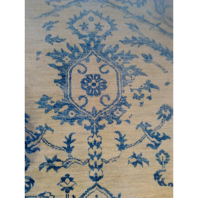 """Erased Hand-Knotted Luxury Rug - 7'11"""" X 9'10"""" - Image 6 of 9"""