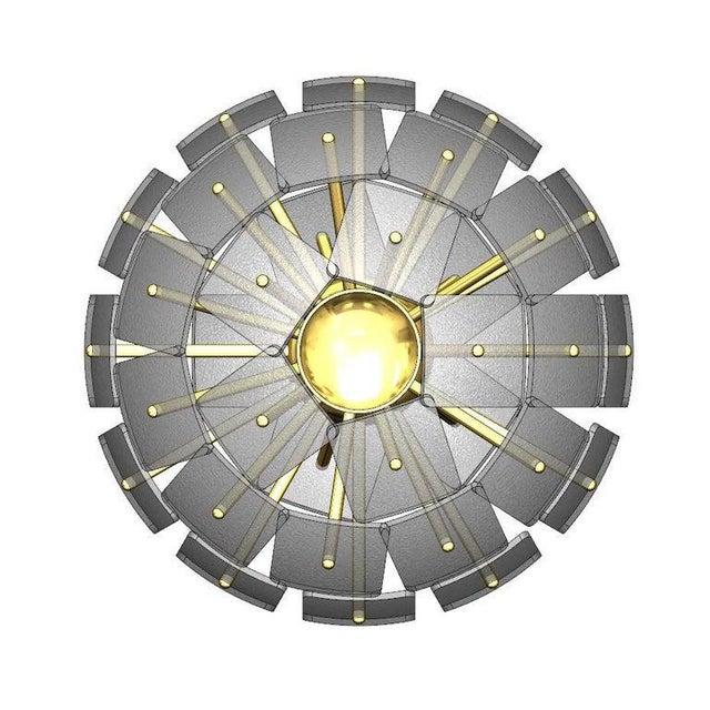 """Not Yet Made - Made To Order Sputnik Rock Crystal Chandelier, """"Nova"""", Limited Edition For Sale - Image 5 of 7"""
