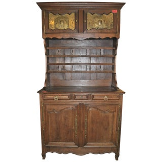 19th Century Oak Country French Cupboard For Sale