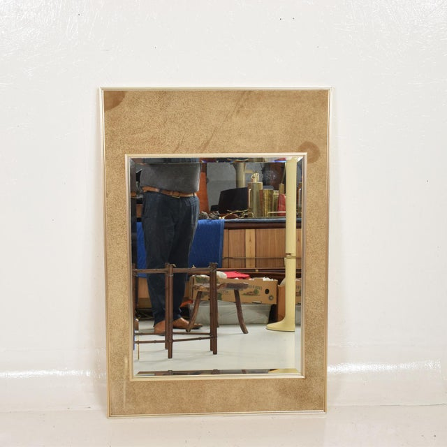 Metal La Barge Mid-Century Modern Wall Mirror For Sale - Image 7 of 10