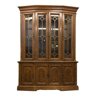 Drexel Lighted China Cabinet