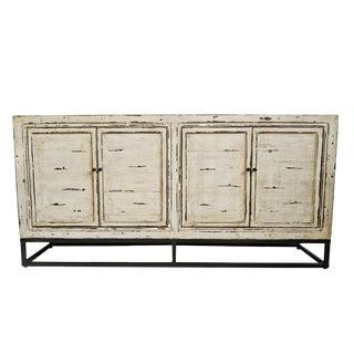 Vintage White Sideboard For Sale