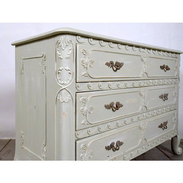 1930s Louis XVI Style Chest Of Drawers - Image 4 of 8