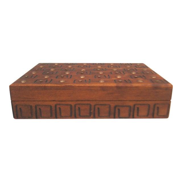 Hand Carved Trinket Box - Image 1 of 6