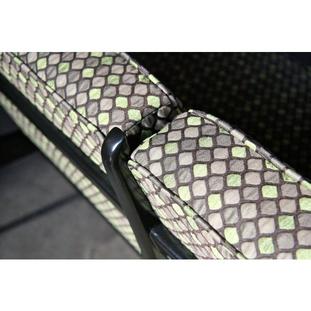 Green Italian 1950s Sofa Attributed to Gianfranco Frattini for Cassina For Sale - Image 8 of 11