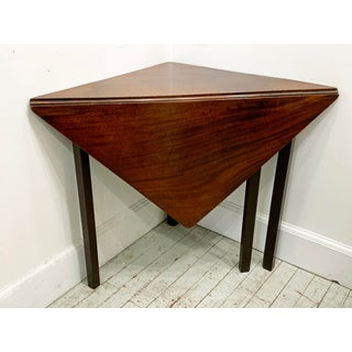 18th C. Chippendale Envelope Drop Leaf Table Preview