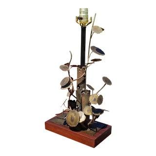 Mid-Century Jere Era Raindrops Desk Lamp For Sale