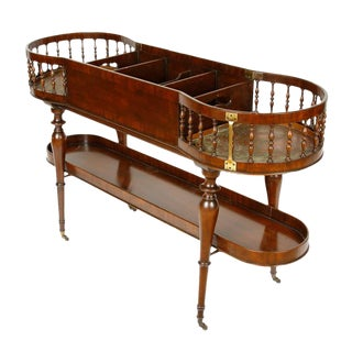 English Regency Mahogany Bar/Wine Cart